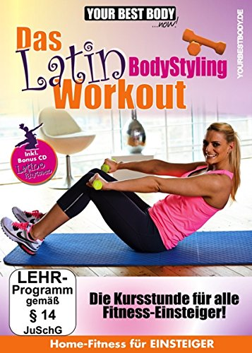 Your Best Body - Das Latin Bodystyling Workout (+ Audio-CD) [2 DVDs] von Rough Trade Distribution GmbH
