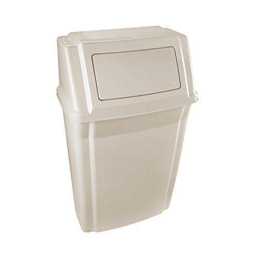 Rubbermaid Commercial Products Slim Jim Wall Mounted Container, 56.8 L - Beige von Rubbermaid Commercial Products