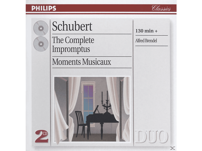 Alfred Brendel, Franz Schubert - The Complete Impromptus Moments Musicaux (CD) von PHILIPS