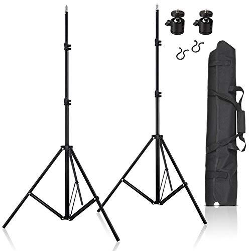 Meking 65cm Padded Stativtasche Licht Stativ Monopod Rei/ßverschlusstasche mit Schultergurt f/ür Stativ Light Stand Monopod Umbrellas