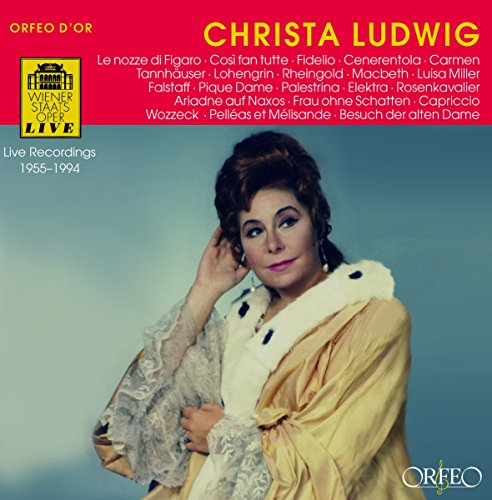 Christa Ludwig:Figaro/Ariadne auf Naxos/+ von Sheva Collection