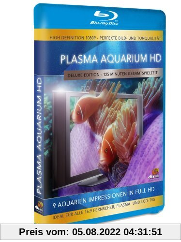 Plasma Aquarium HD - 9 Aquarien Impressionen in High Definition [Blu-ray] [Deluxe Edition] von Simon Busch