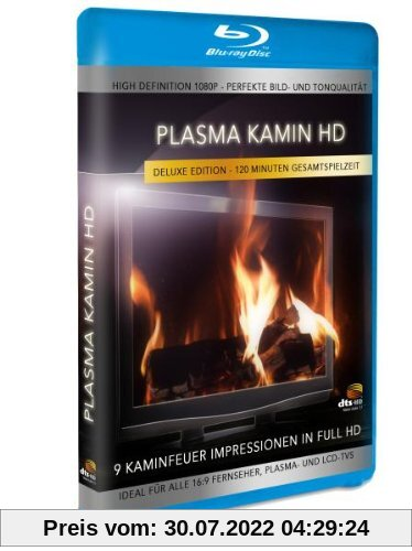 Plasma Kamin HD - 9 Kaminfeuer Impressionen in High Definition [Blu-ray] [Deluxe Edition] von Simon Busch