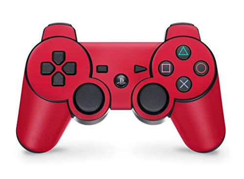 Sony Playstation 3 Controller Skins Aufkleber PS3 Skin Sticker - solid-state-red von Skins4u