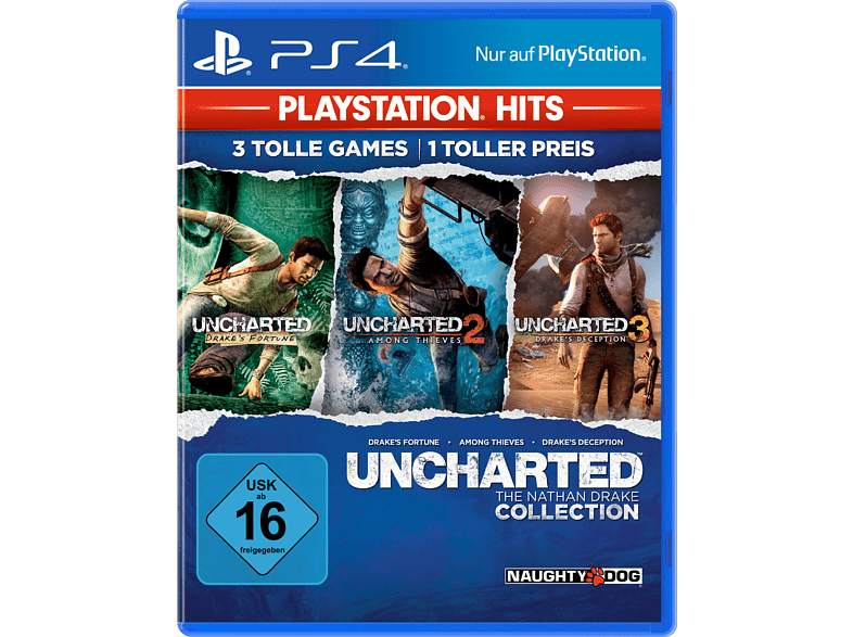 PS Hits: Uncharted - The Nathan Drake Collection [PlayStation 4] von Sony Interactive Entertainment