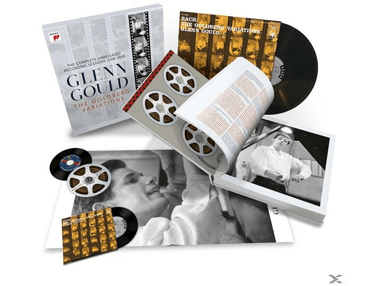 Glenn Gould - Goldberg Variations-Compl.1955 Record.(7CD+1 LP) (CD) von SONY CLASS