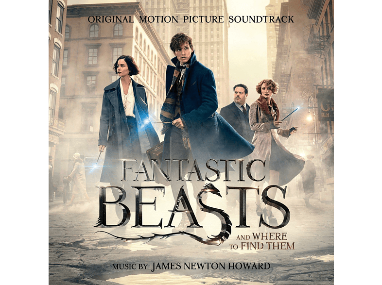 James Newton Howard - Fantastic Beasts a.Where to Find Them/OST Deluxe [CD] von SONY CLASS