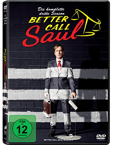 Better Call Saul - Die komplette dritte Season (3 Discs) [DVD] von Sony Pictures Home Entertainment