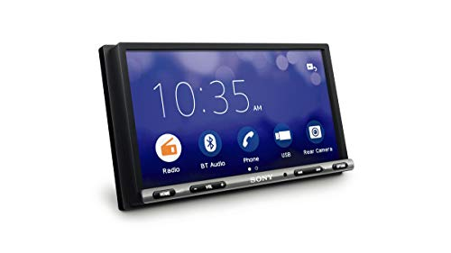Sony XAV-3500 Auto-Player (WebLink, Bluetooth (6,95 Zoll) Touchscreen, blendfrei, kompatibel mit Android/iOS und Apps, wie Waze oder YouTube, Leistung 55 W x 4), Schwarz von Sony