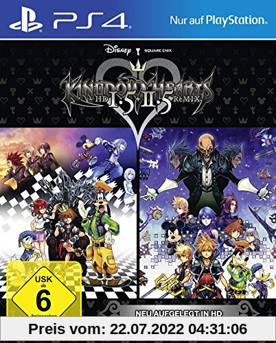 Kingdom Hearts HD 1.5 & 2.5 Remix von Square Enix