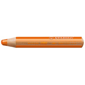 STABILO Woody 3 in 1 Buntstift orange von Stabilo