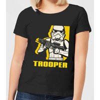 Star Wars Rebels Trooper Damen T-Shirt - Schwarz - S - Schwarz von Star Wars
