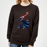 Star Wars Candy Cane Darth Vader Women's Christmas Sweatshirt - Black - S - Schwarz von Star Wars
