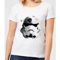 Star Wars Classic Command Stromtrooper Death Star Damen T-Shirt - Weiß - S - Weiß von Star Wars