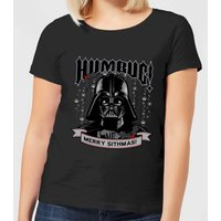 Star Wars Darth Vader Humbug Women's Christmas T-Shirt - Black - M - Schwarz von Star Wars