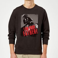 Star Wars Darth Vader I Am Your Father Gripping Sweatshirt - Black - L - Schwarz von Star Wars