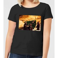 Star Wars Jawas Christmas Tree Women's Christmas T-Shirt - Black - M - Schwarz von Star Wars