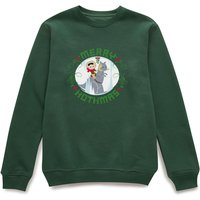 Star Wars Merry Hothmas Pullover - Dunkelgrün - XXL - Forest Green von Star Wars