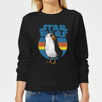 Star Wars Porg Women's Sweatshirt - Black - XL - Schwarz von Star Wars
