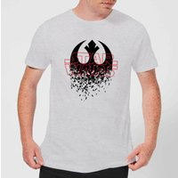 Star Wars Shattered Emblem T-Shirt - Grau - 5XL - Grau von Star Wars