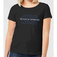 Star Wars The Rise Of Skywalker Logo Women's T-Shirt - Black - 5XL - Schwarz von Star Wars
