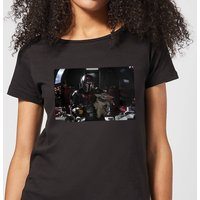 The Mandalorian Pilot And Co Pilot Women's T-Shirt - Black - XXL - Schwarz von Star Wars