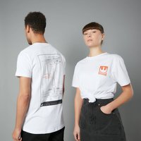 The Rise of Skywalker - X-wing Schematic T-Shirt - Weiß - Unisex - L - Weiß von Star Wars
