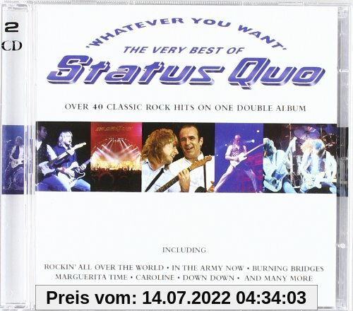 Whatever you want - The Very Best of von Status Quo