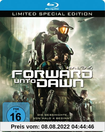 Halo 4: Forward Unto Dawn - Steelbook (Limited Special Edition) [Blu-ray] von Stewart Hendler