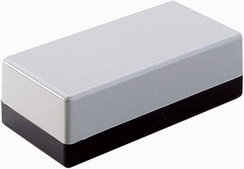 Hand-Gehäuse 129 x 40 x 24  ABS Grau Strapubox 2090 1 St.