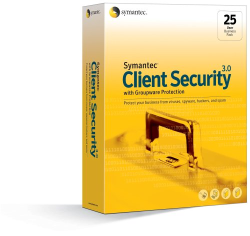 Client Security 3.0 with Groupware Protection Business Pack 25-User Win von Symantec