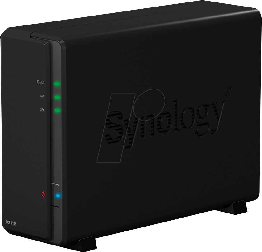 SYNOLOGY 11816 - NAS-Server DiskStation DS118 16 TB HDD von Synology