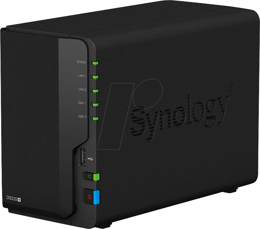SYNOLOGY 220+16 - NAS-Server DiskStation DS220+ 16 TB HDD von Synology