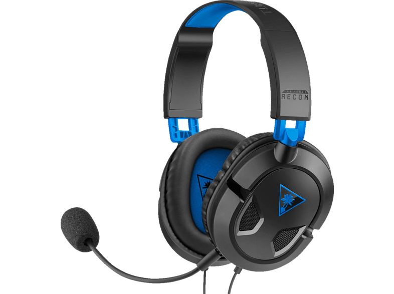 TURTLE BEACH Recon 50P, Over-ear Gaming Headset Schwarz/Blau von TURTLE BEACH