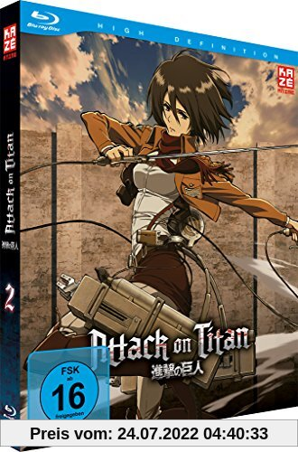Attack on Titan - Vol.2 [Blu-ray] von Tetsuro Araki