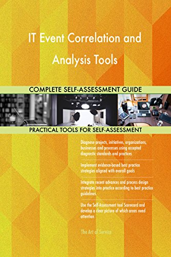 IT Event Correlation and Analysis Tools All-Inclusive Self-Assessment - More than 700 Success Criteria, Instant Visual Insights, Comprehensive Spreadsheet Dashboard, Auto-Prioritized for Quick Results von The Art of Service