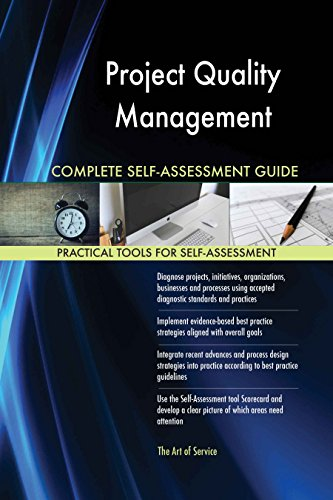 Project Quality Management All-Inclusive Self-Assessment - More than 620 Success Criteria, Instant Visual Insights, Comprehensive Spreadsheet Dashboard, Auto-Prioritized for Quick Results von The Art of Service