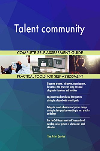 Talent community All-Inclusive Self-Assessment - More than 710 Success Criteria, Instant Visual Insights, Comprehensive Spreadsheet Dashboard, Auto-Prioritized for Quick Results von The Art of Service