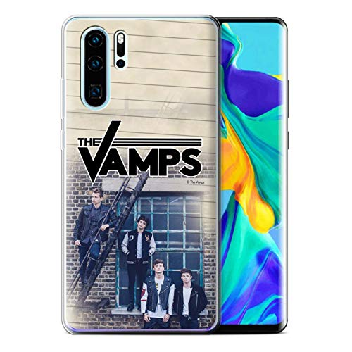 The Vamps Offiziell Hülle/Gel TPU Case für Huawei P30 Pro 2019 / Tagebuch Muster Fotoshoot Kollektion von The Vamps