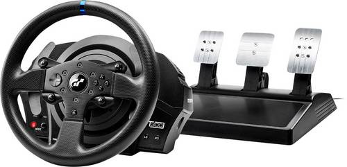 Thrustmaster TM T300 RS Gran Turismo Edition Lenkrad USB PC, PlayStation 4, PlayStation 3 Schwarz in von Thrustmaster