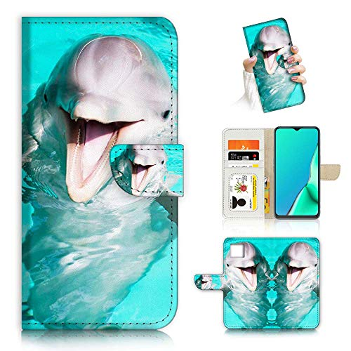 A23017 Schutzhülle für iPhone 12 Pro Max, Design Smiling Dolphin 23017 von True Love Jewellery Pty Ltd
