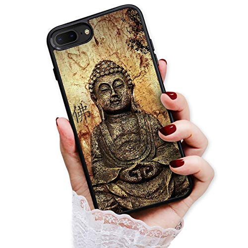 HOT12125 Schutzhülle für iPhone 8, iPhone 7, Motiv Buddha von True Love Jewellery Pty Ltd