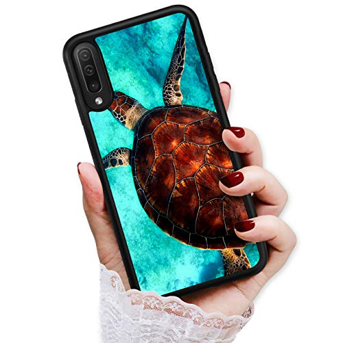 Schutzhülle für Samsung Galaxy A50, Art Design Soft Back Case Phone Cover HOT12359 Sea Turtle 12359 von True Love Jewellery Pty Ltd