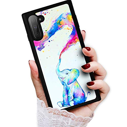 HOT12443 Schutzhülle für Samsung Note 10, Galaxy Note 10, Art Design Baby Elefant von True Love Jewellery Pty Ltd