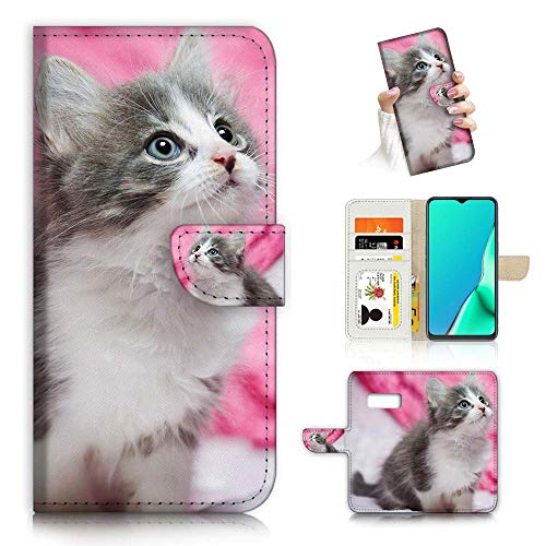 Für Samsung S10+/Galaxy S10 Plus, Fancy Art Wallet Flip Phone Case Cover A23005 Cute Ragdoll Cat 23005 von True Love Jewellery Pty Ltd