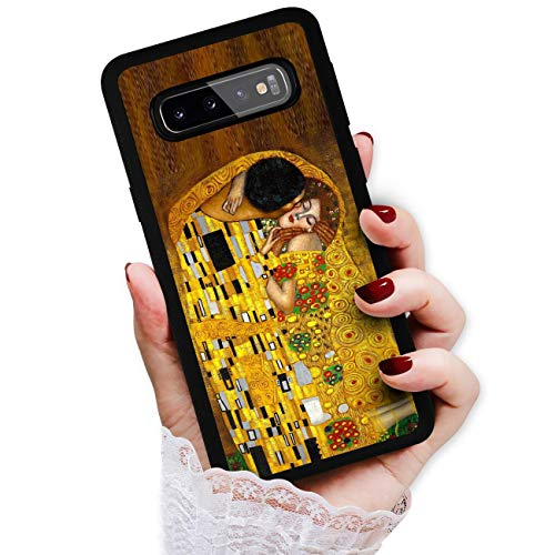 Schutzhülle für Samsung S10e, Galaxy S10e, Art Design Soft Back Case Phone Cover, HOT12017 Klimt Painting The Kiss 12017 von True Love Jewellery Pty Ltd