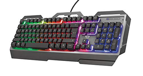 Trust Gaming GXT 856 Torac Metallene Gaming Tastatur mit Deutsches QWERTZ-Layout von Trust Gaming