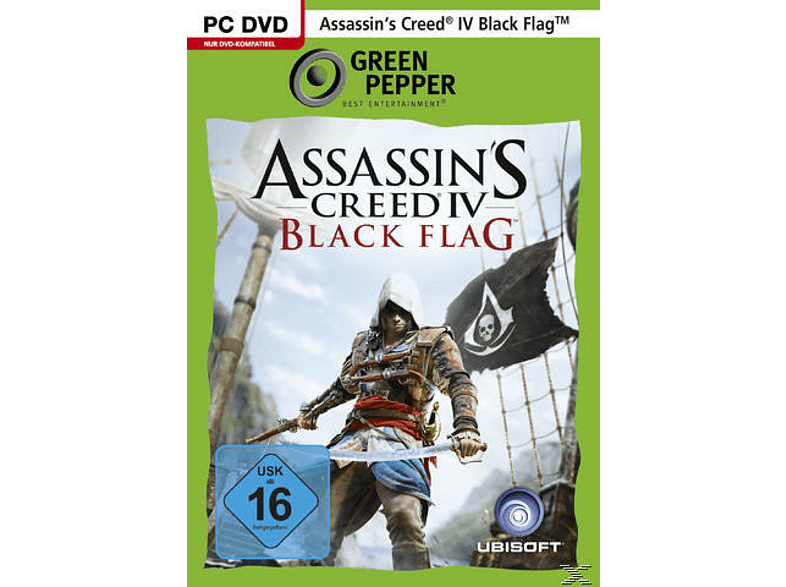 Assassin's Creed IV: Black Flag (Green Pepper) für PC online von UBISOFT GMBH