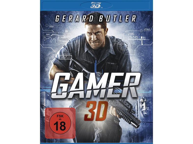 Gamer - Uncut (ink.l 2D-Version) auf 3D Blu-ray online von LEONINE