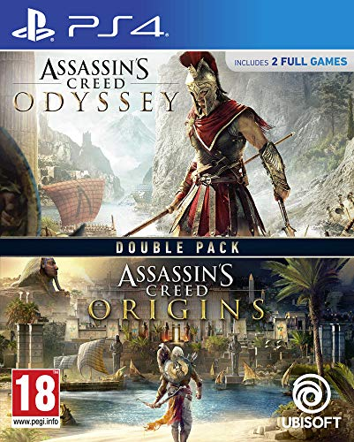 Assassins Creed Origins + Assassins Creed Odyssey – PS4 von Ubisoft